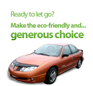 Ready to let go? Make the eco-friendly and... generous choice.